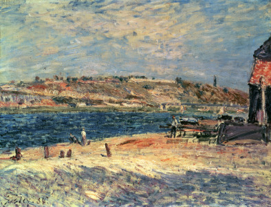 Picture no: 31002107 River Banks at Saint-Mammes, 1884 Created by: Sisley, Alfred