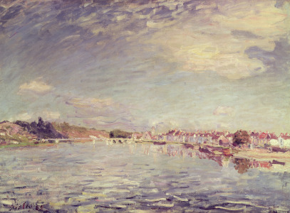 Picture no: 31002108 Saint-Mammes, 1885 Created by: Sisley, Alfred