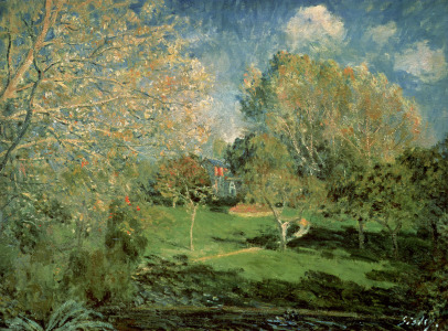 Picture no: 31002110 The Garden of Hoschede Family, 1881 Created by: Sisley, Alfred