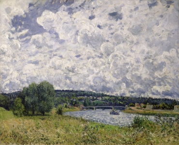 Picture no: 31002111 The Seine at Suresnes, 1877 Created by: Sisley, Alfred