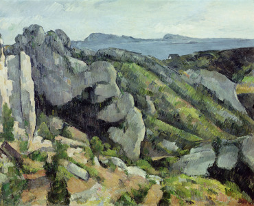 Picture no: 31002204 Rocks at L'Estaque, 1879-82 Created by: Cezanne, Paul