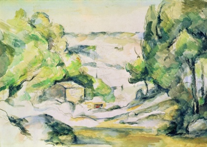 Picture no: 31002206 Countryside in Provence Created by: Cezanne, Paul