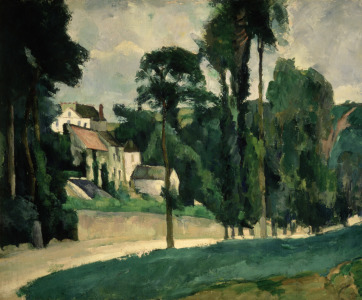 Picture no: 31002210 The Road at Pontoise, 1875 Created by: Cezanne, Paul