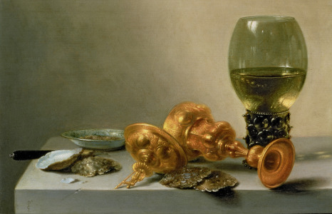 Picture no: 31002262 A Still Life with a Roemer and a Gilt Cup Created by: Claesz, Pieter