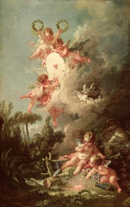 Picture no: 31002274 Cupid's Target, from 'Les Amours des Dieux', 1758 Created by: Boucher, Francois