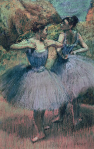 Picture no: 31002384 Dancers in Violet Created by: Degas, Edgar