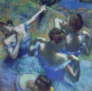 Picture no: 31002391 Blue Dancers, c.1899 Created by: Degas, Edgar