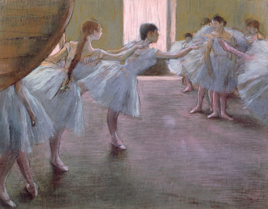 Picture no: 31002392 Dancers at Rehearsal, , 1875-1877 Created by: Degas, Edgar
