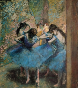Picture no: 31002394 Dancers in blue, 1890 Created by: Degas, Edgar