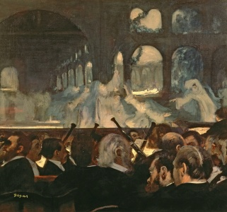 Picture no: 31002404 The ballet scene from Meyerbeer's opera 'Robert le Diable', 1876 Created by: Degas, Edgar