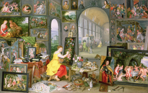 Picture no: 31002420 Allegory of Painting Created by: Brueghel, Jan the Younger