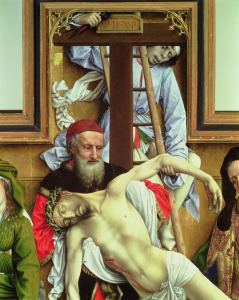 Picture no: 31002496 Joseph of Arimathea Supporting the Dead Christ, 1435 Created by: Weyden, Rogier van der