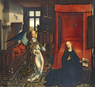 Picture no: 31002498 The Annunciation Created by: Weyden, Rogier van der