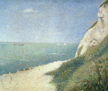 Picture no: 31002514 Beach at Bas Butin, Honfleur, 1886 Created by: Seurat, Georges Pierre