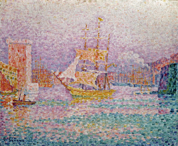 Picture no: 31002541 Harbour at Marseilles, c.1906 Created by: Signac, Paul