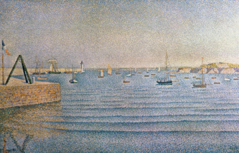 Picture no: 31002542 The Harbour at Portrieux, 1888 Created by: Signac, Paul