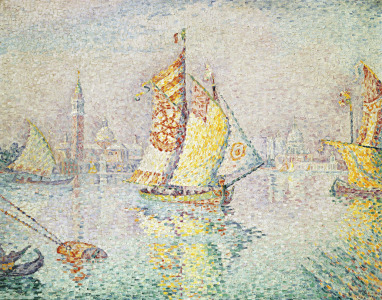 Picture no: 31002543 The Yellow Sail, Venice, 1904 Created by: Signac, Paul