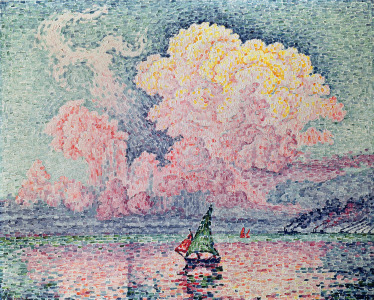 Picture no: 31002545 Antibes, the Pink Cloud, 1916 Created by: Signac, Paul