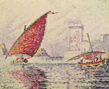 Picture no: 31002547 Fort Saint-Jean, Marseilles, 1907 Created by: Signac, Paul