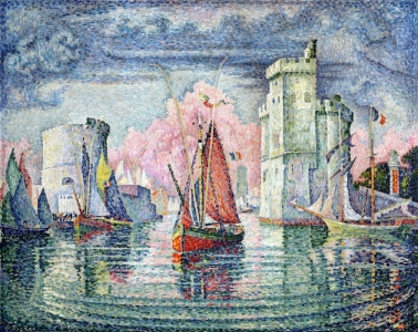 Picture no: 31002549 The Port at La Rochelle, 1921 Created by: Signac, Paul