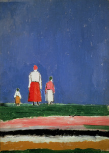 Picture no: 31002753 Three Figures, 1913-28 Created by: Malevich, Kazimir Severinovich