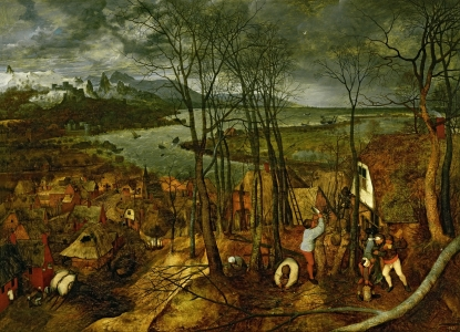Picture no: 31002842 Landscape with the Fall of Icarus, c.1555 Created by: Bruegel, Pieter the Elder