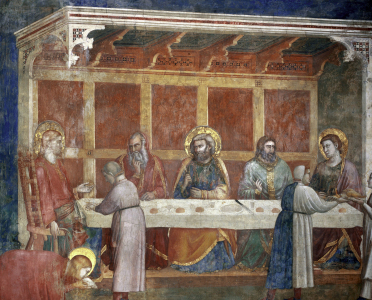 Picture no: 30001900 House of th.Pharisee / Fresco / c.1320 Created by: Giotto di Bondone