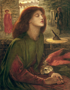 Picture no: 30007184 D.G.Rossetti, Beata Beatrix Created by: Rossetti, Dante Gabriel