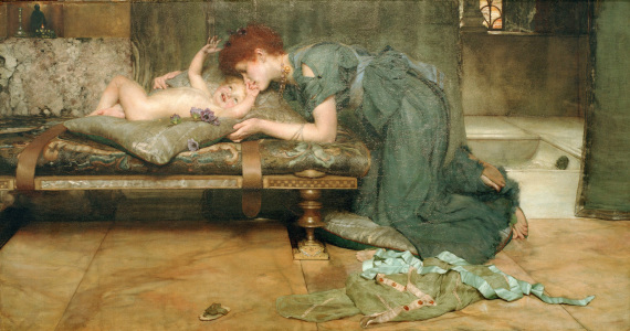 Picture no: 30008537 Alma Tadema / The earthly paradise /1891 Created by: Alma-Tadema, Lawrence