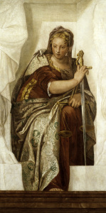 Picture no: 30009371 Justitia / Painting by Veronese Created by: Veronese, Paolo