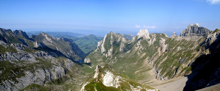 Picture no: 9586264 Panorama - Alpstein Rotsteinpass Created by: move
