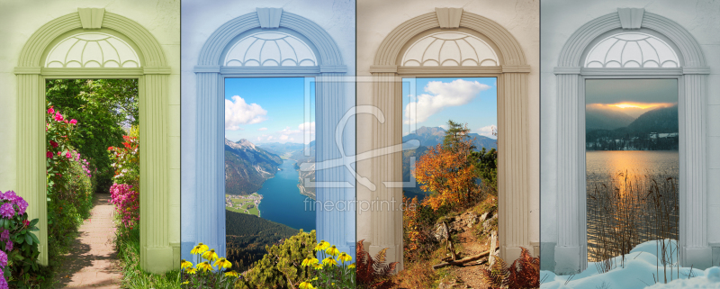 freely selectable image excerpt for your image on Door Foil