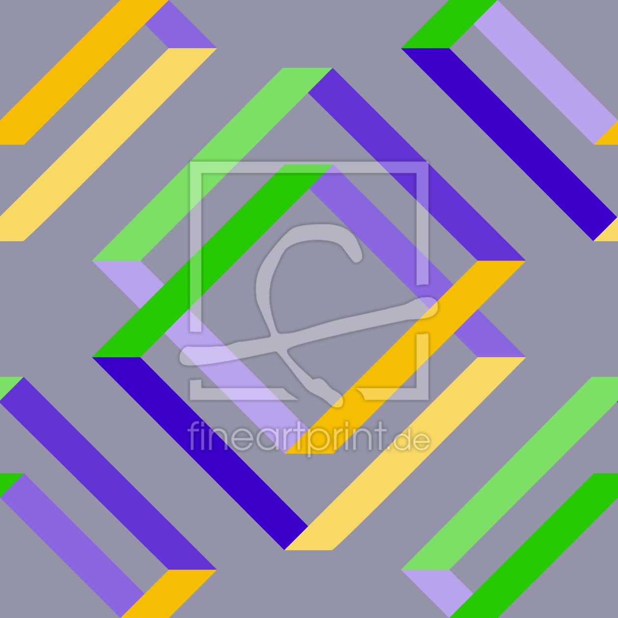 quadratische einblicke als acryluhr von patterndesigns. Black Bedroom Furniture Sets. Home Design Ideas