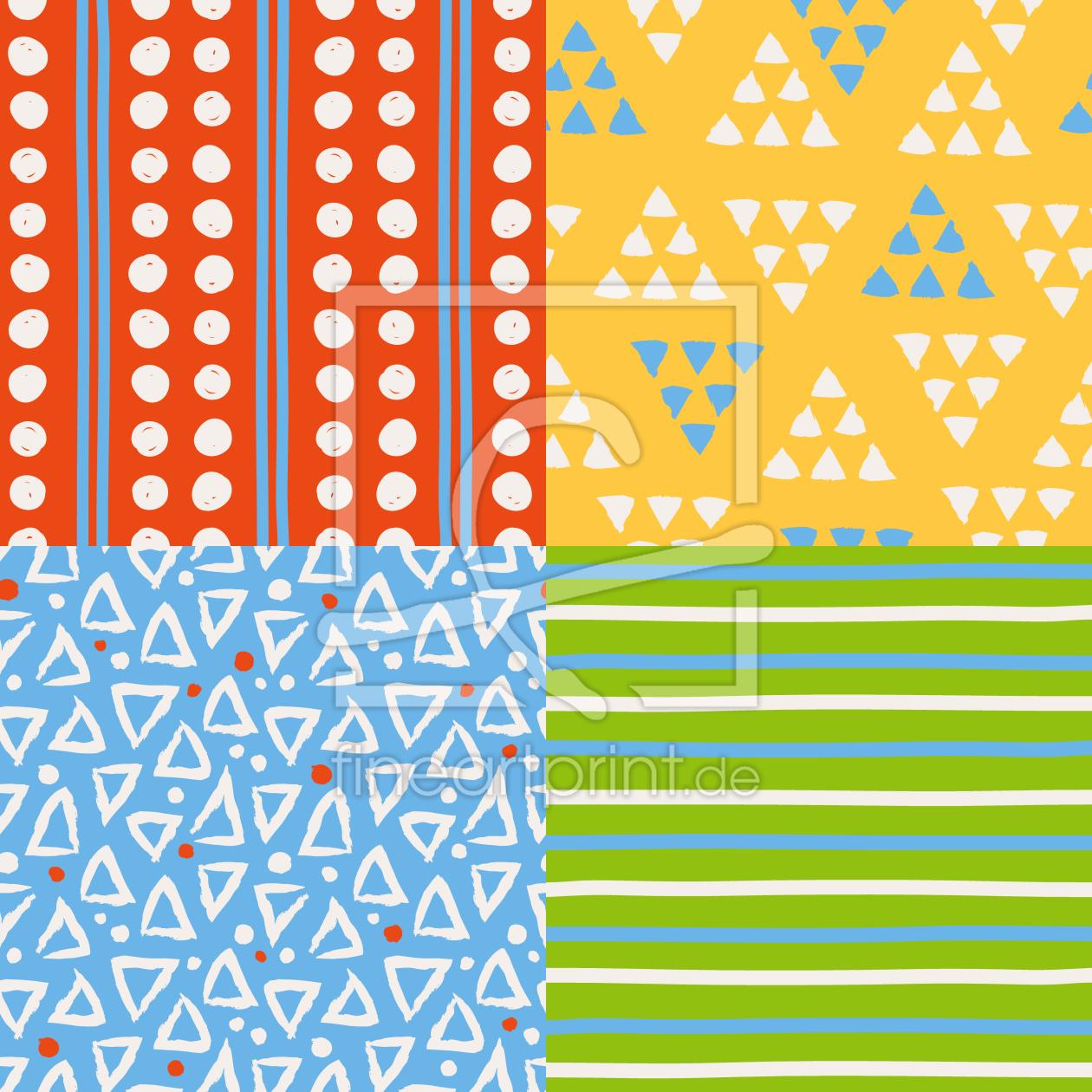 karierte dreiecke als teppich von patterndesigns com e. Black Bedroom Furniture Sets. Home Design Ideas