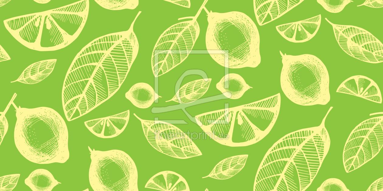 ananas und palmenbl tter als tapete von patterndesign. Black Bedroom Furniture Sets. Home Design Ideas