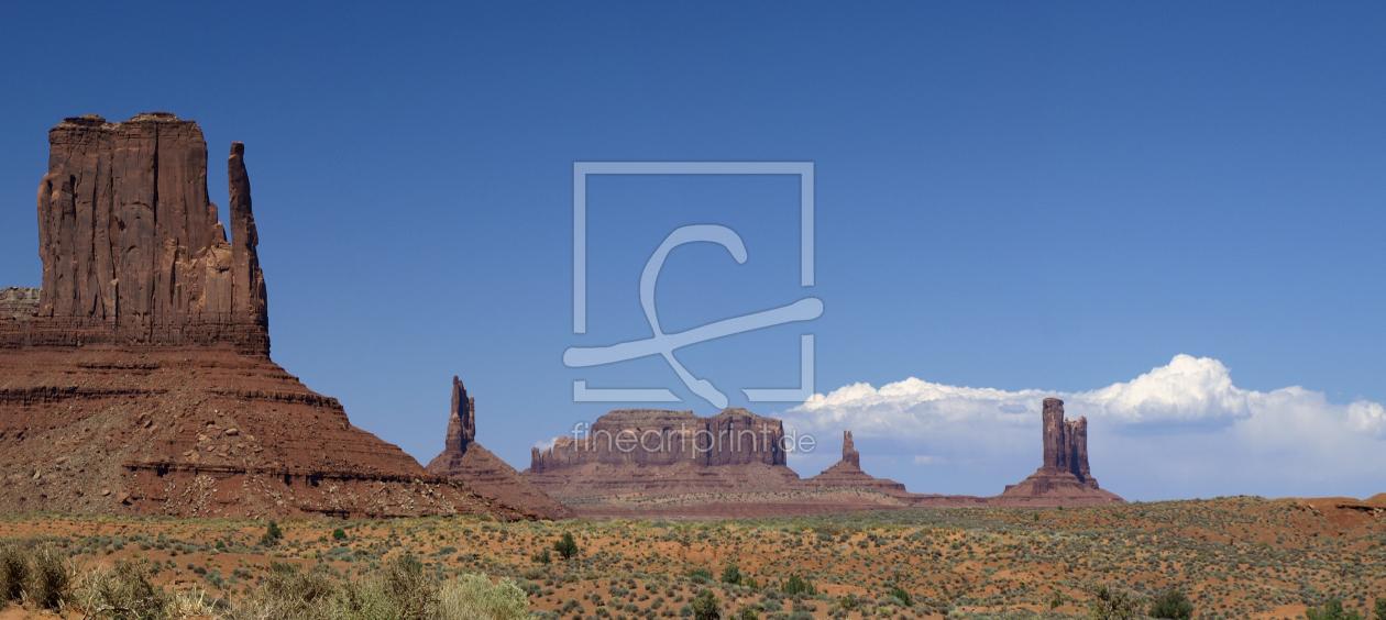 Monument Valley als Küchenspiegel von Melanie Viola e...