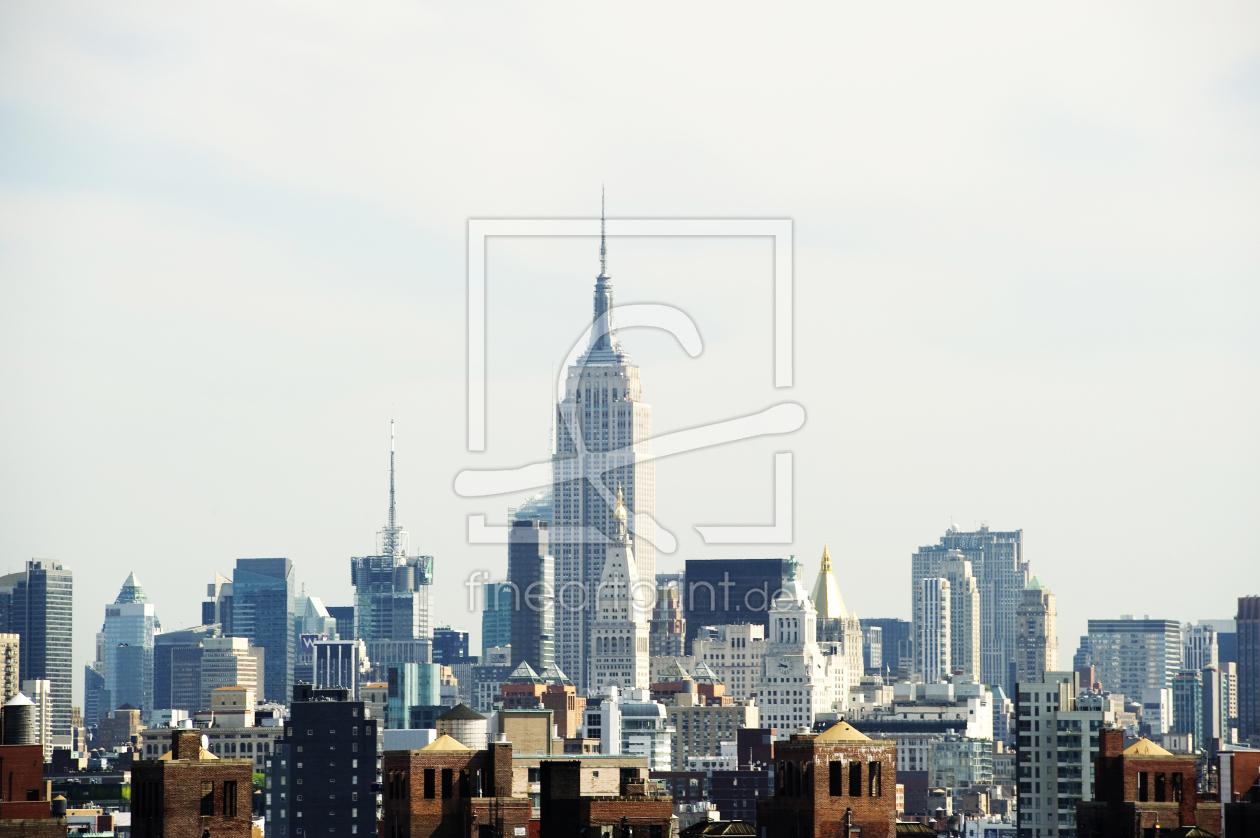 Skyline als Acryl von danielschoenen erhältlich bei Fine