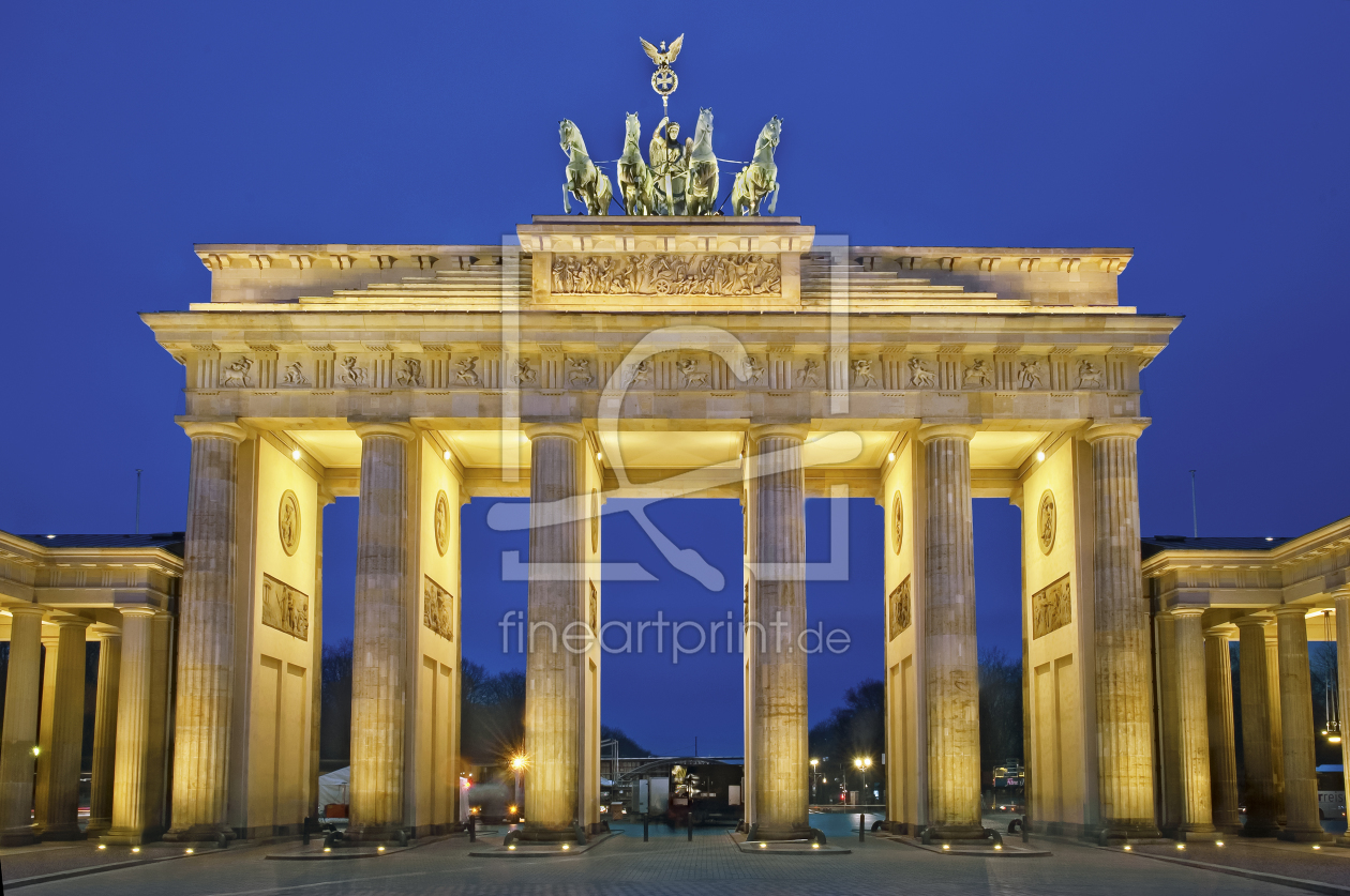 berlin alexanderplatz als leinwand von fineartimages erh ltlich bei. Black Bedroom Furniture Sets. Home Design Ideas