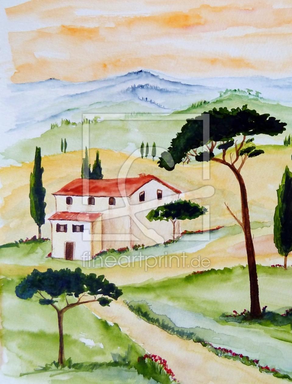 ToskanaStille und Harmonie 2 als Teppich von