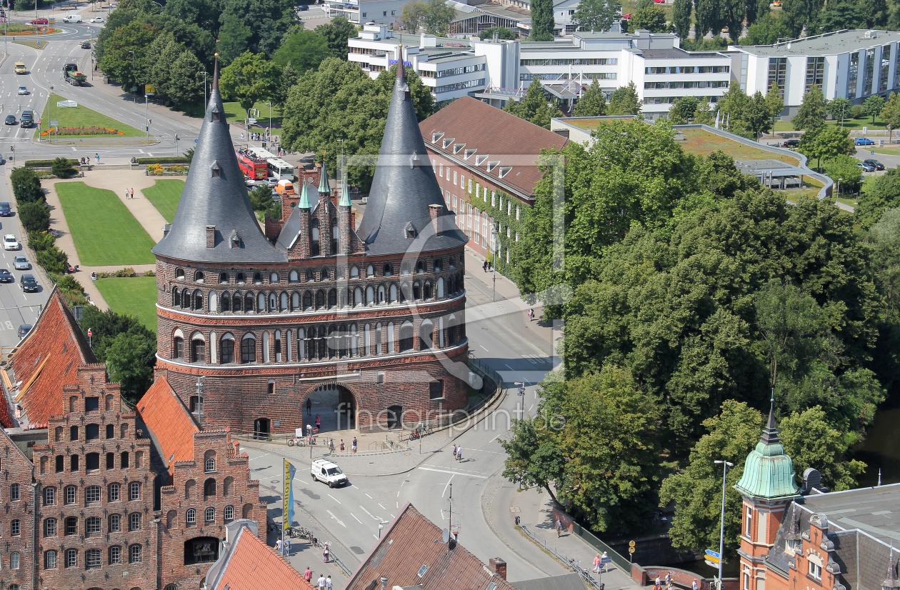 altstadt von l beck marienkirche rathaus markt als l. Black Bedroom Furniture Sets. Home Design Ideas