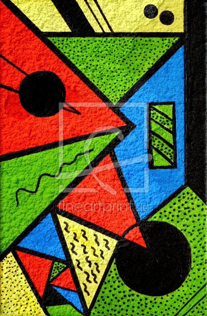 farbenfroh ii als acryluhr von gabi siebenh hner erh l. Black Bedroom Furniture Sets. Home Design Ideas