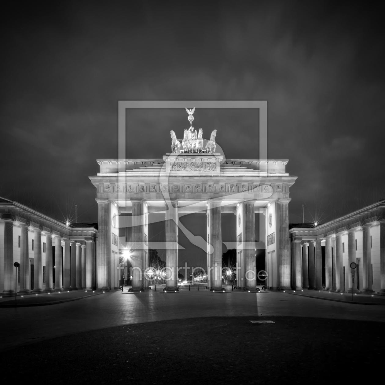 berlin city west als leinwand von melanie viola erh. Black Bedroom Furniture Sets. Home Design Ideas
