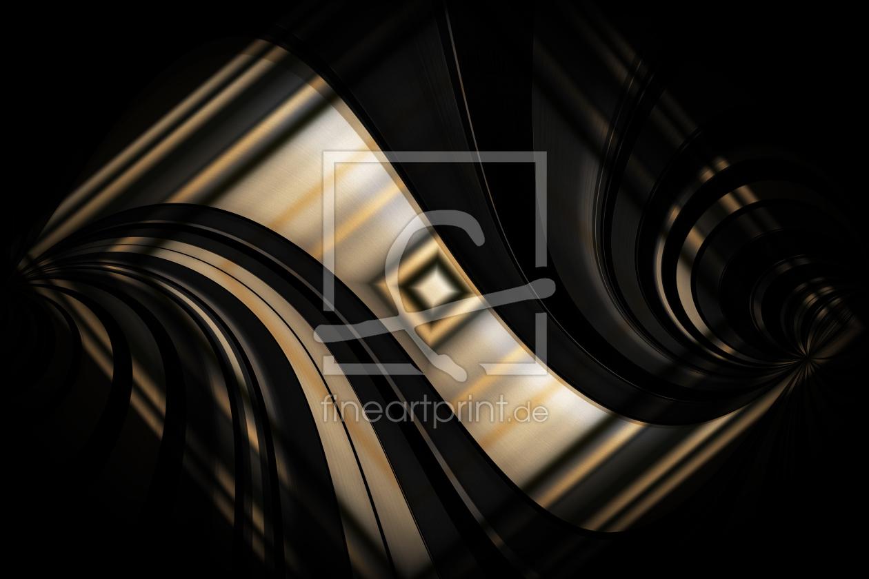 licht und schatten design ii als leinwand von dagma. Black Bedroom Furniture Sets. Home Design Ideas