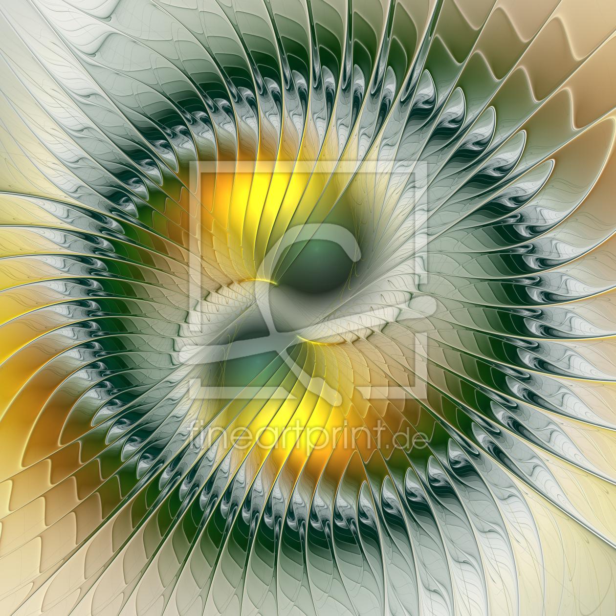 Die kraft in uns als leinwand von gabiw art erh ltlich be for Yin yang raumgestaltung