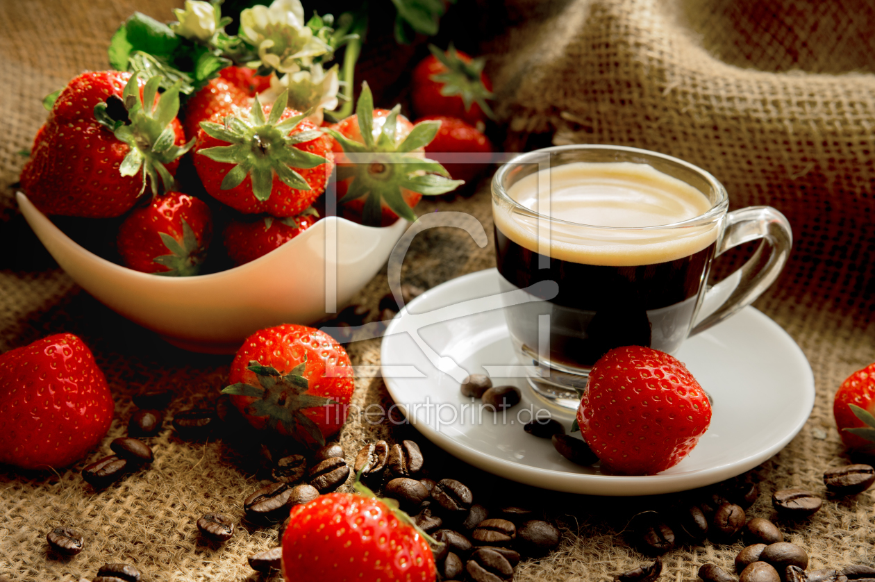 kaffeetafel als leinwand von tanja riedel erh ltlich bei. Black Bedroom Furniture Sets. Home Design Ideas