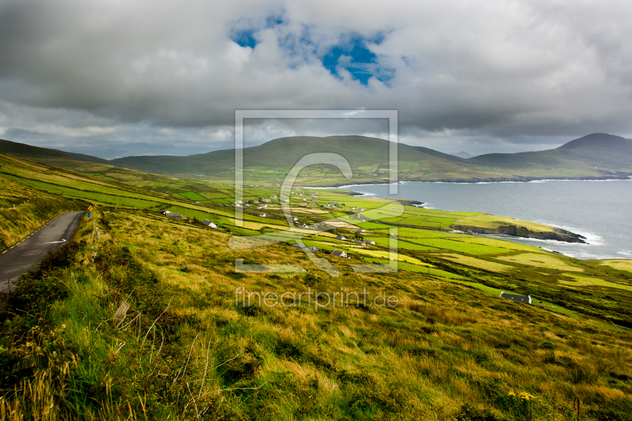 landschaft mit weiden in irland als tischdecke von and. Black Bedroom Furniture Sets. Home Design Ideas
