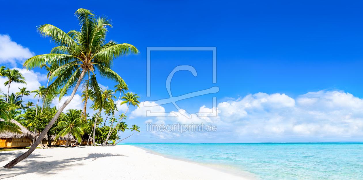strand panorama in der karibik als fensterfolie von eyetronic erh ltli. Black Bedroom Furniture Sets. Home Design Ideas