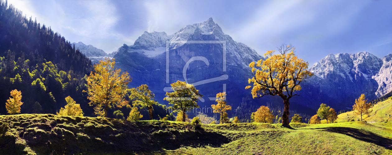Karwendel Light als Küchenspiegel von Michael Rucker ...