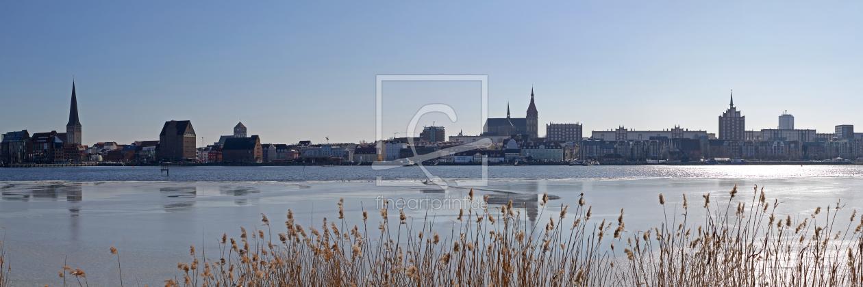 Rostock als Küchenspiegel von FotoDeHRO erhältlich b...