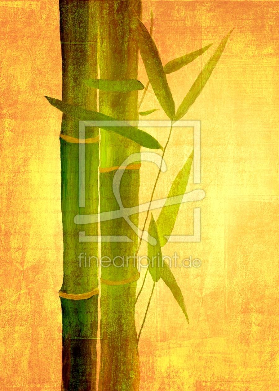 bambus als leinwand von gabi siebenh hner erh ltlich. Black Bedroom Furniture Sets. Home Design Ideas
